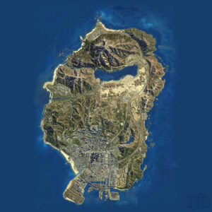 Satelitski snimak mapa