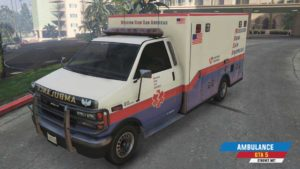 Ambulantno vozilo u GTA 5