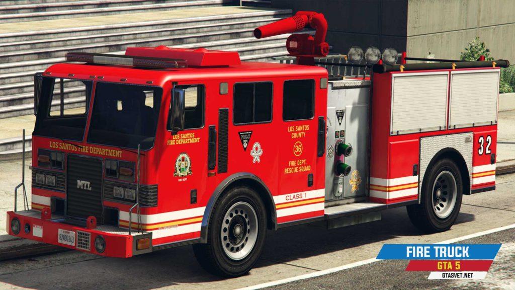 Vatrogasni kamion u GTA 5