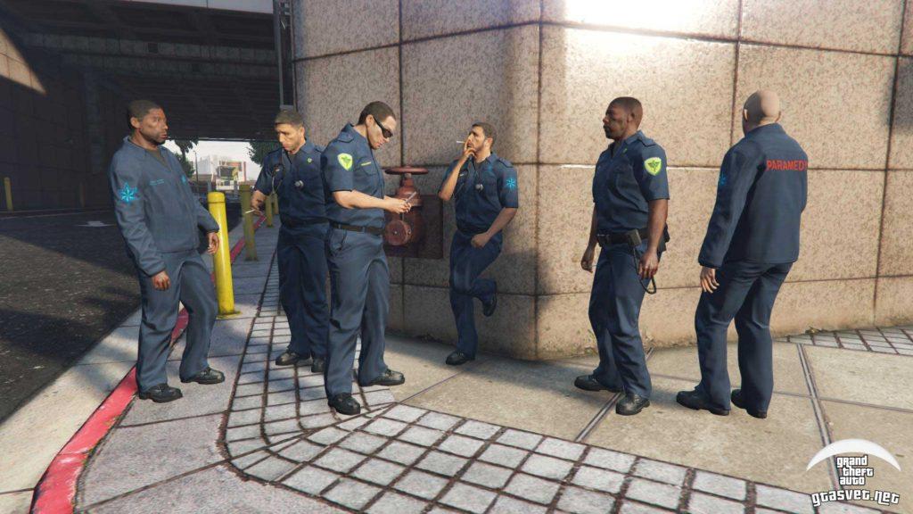 GTA 5 Bolničari