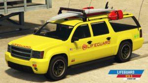 Lifeguard - Vozilo spasilaca u GTA 5