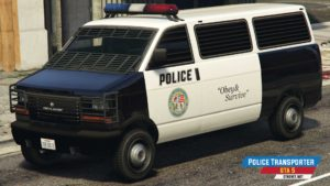 Police Transporter u GTA 5