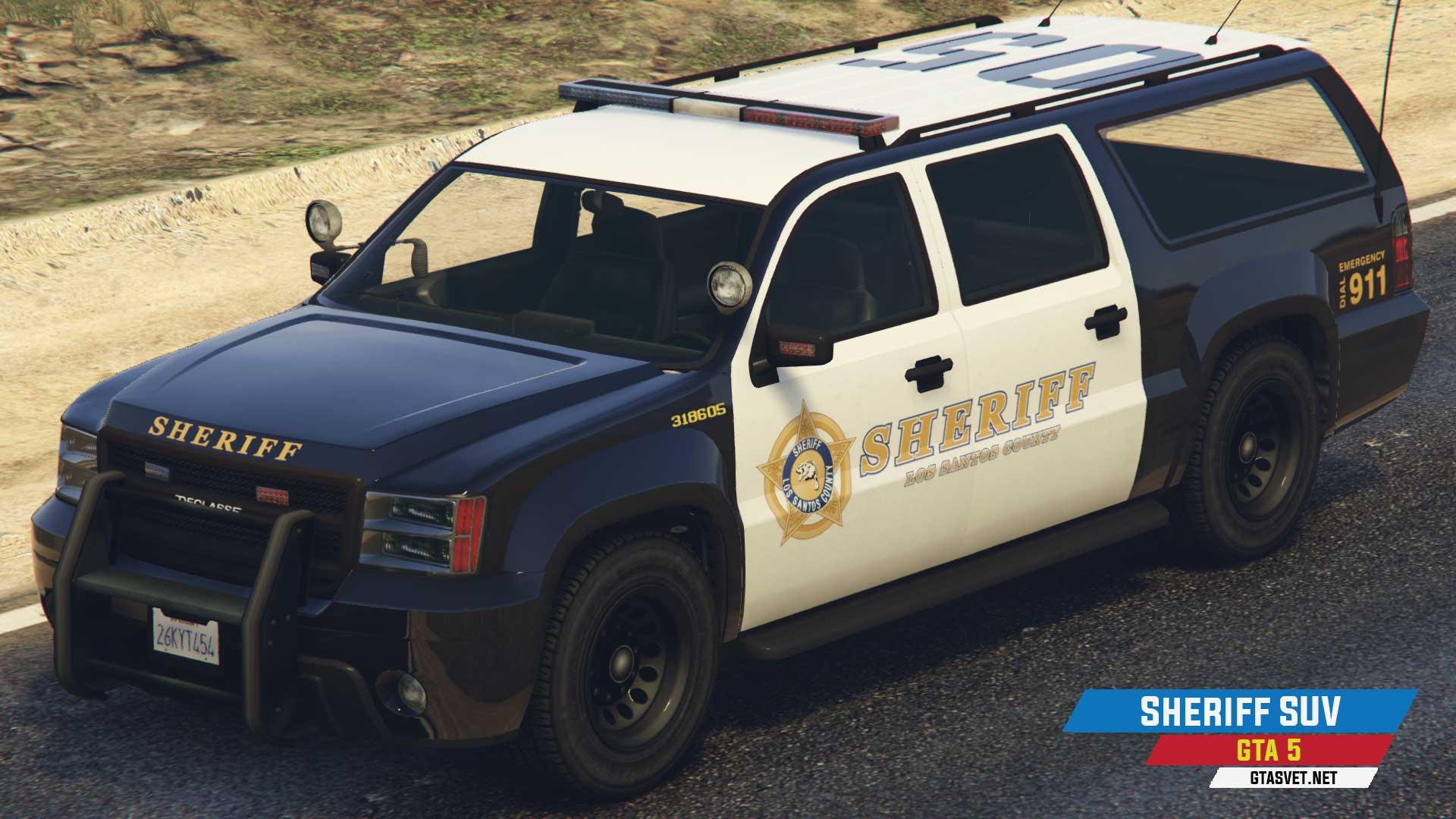 Sheriff SUV u GTA 5