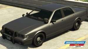 Unmarked Cruiser u GTA 5