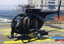 Buzzard Attack Chopper u GTA 5