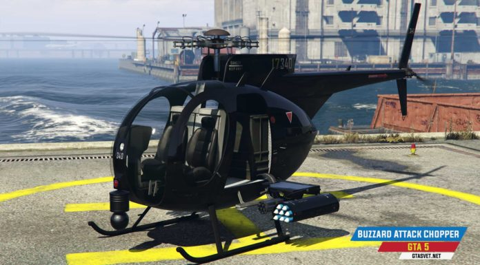 Buzzard Attack Chopper u GTA 5